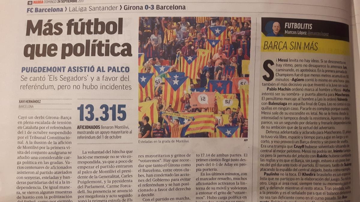 Football and Politics: SpanishBedfellows