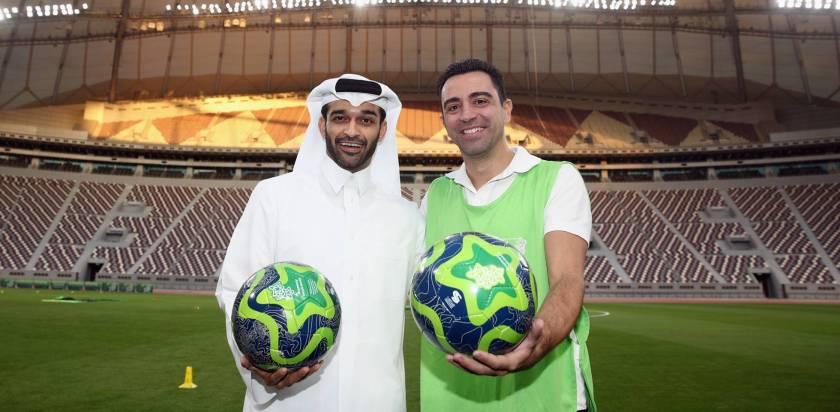 Xavi en Qatar