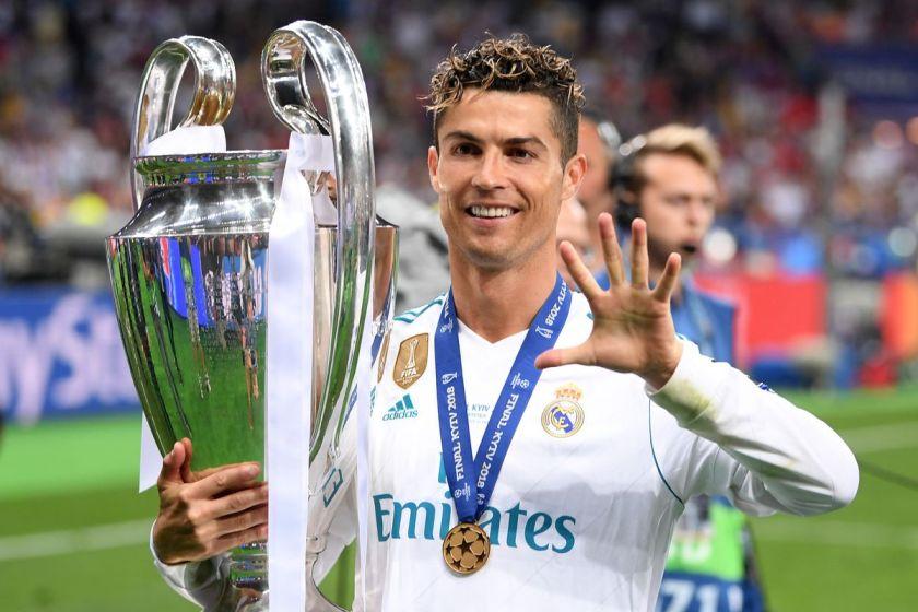 Ronaldo 5 champions