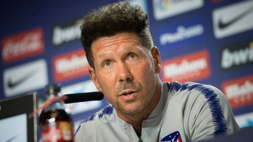 simeone out of favour