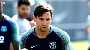 Leo Messi sin Barba