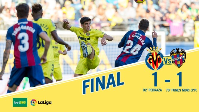 Villarreal-1-1-Levante