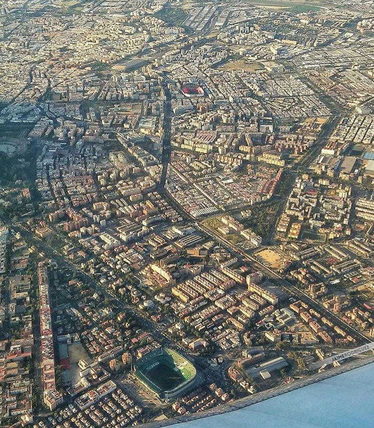 sevilla from the air